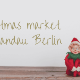 Christmas market in Spandau Be