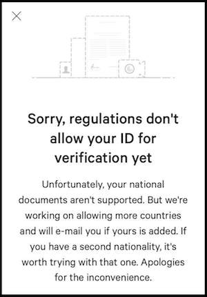 ID is not supported