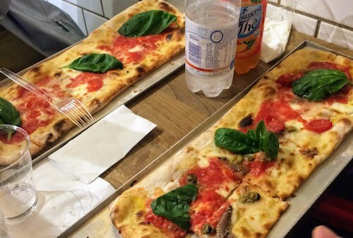 Mangia Pizza Firenze ピザ1